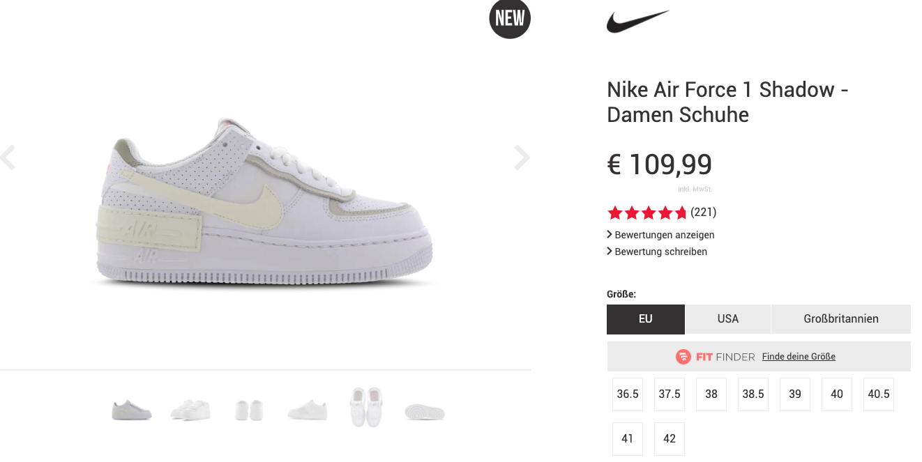Nike Air Force 1 Shadow Sail – alle Release Infos   snkraddicted