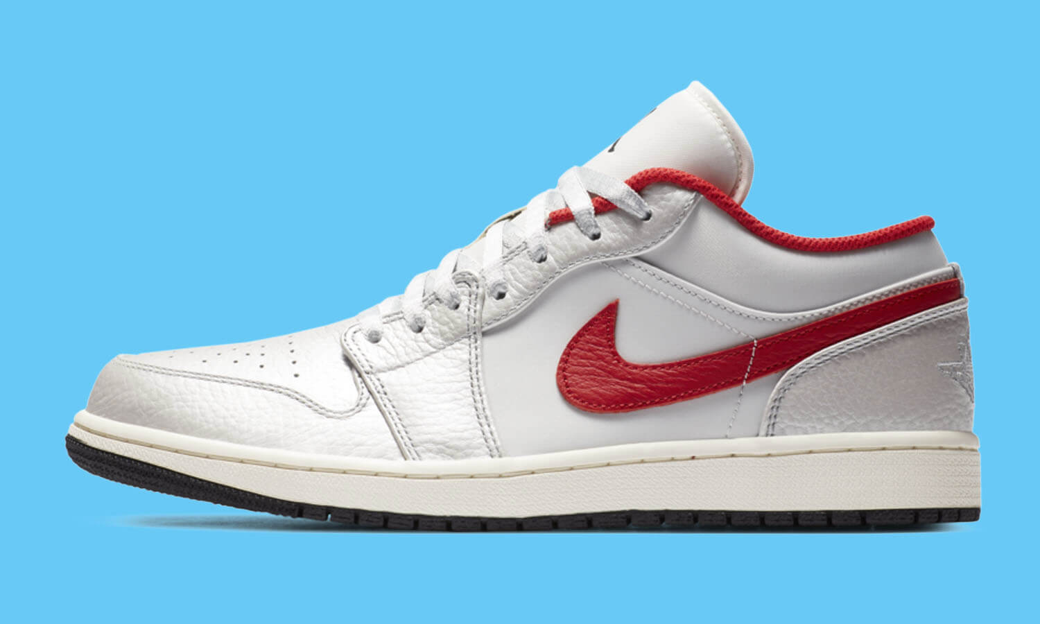 Nike Air Jordan 1 Low White Red