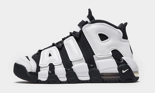 Nike Air More Uptempo 96 Black White