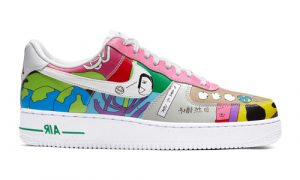 Nike Air Force 1 Flyleather Ruohan Wang CZ3990-900