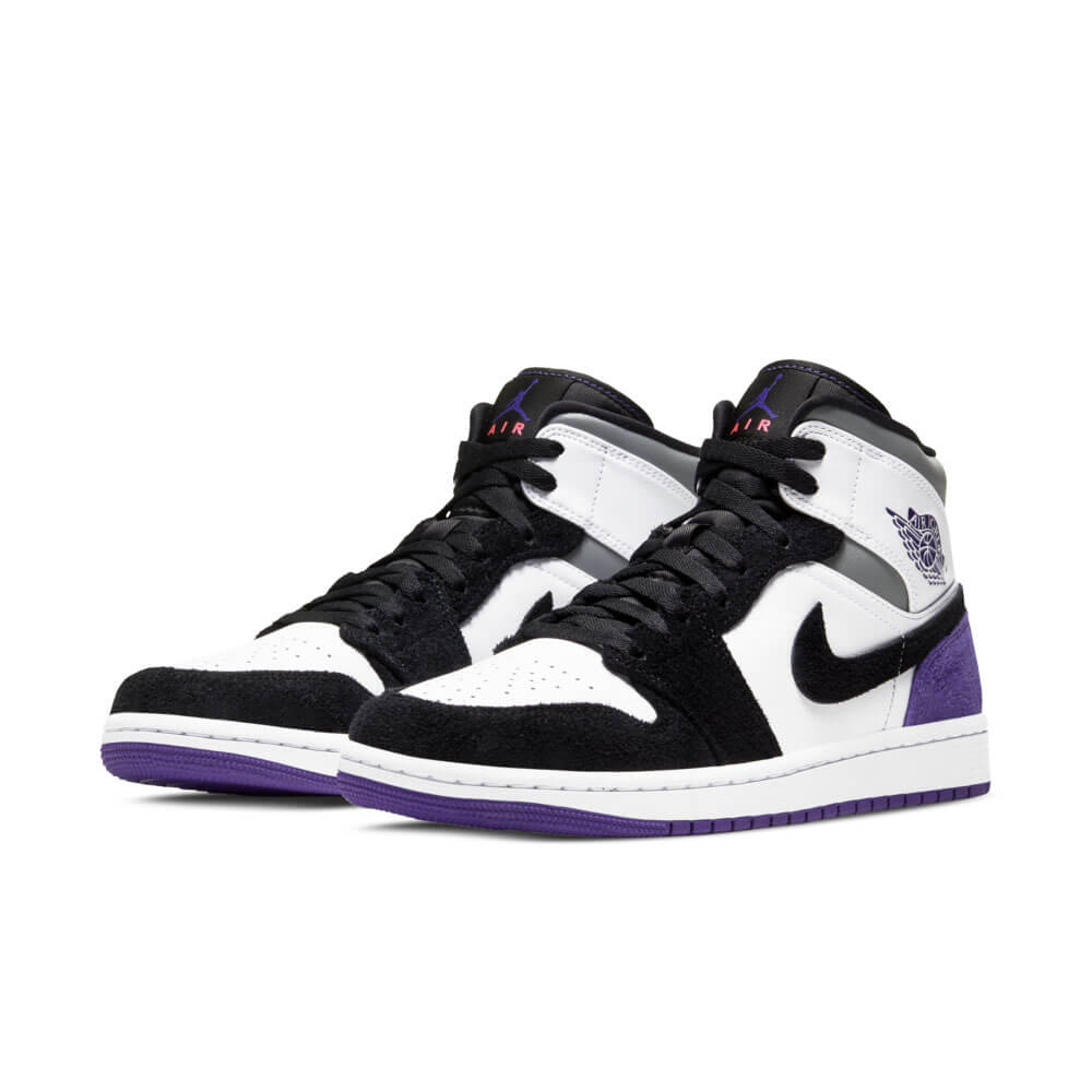 Nike Air Jordan 1 Mid Court Purple 852542-100