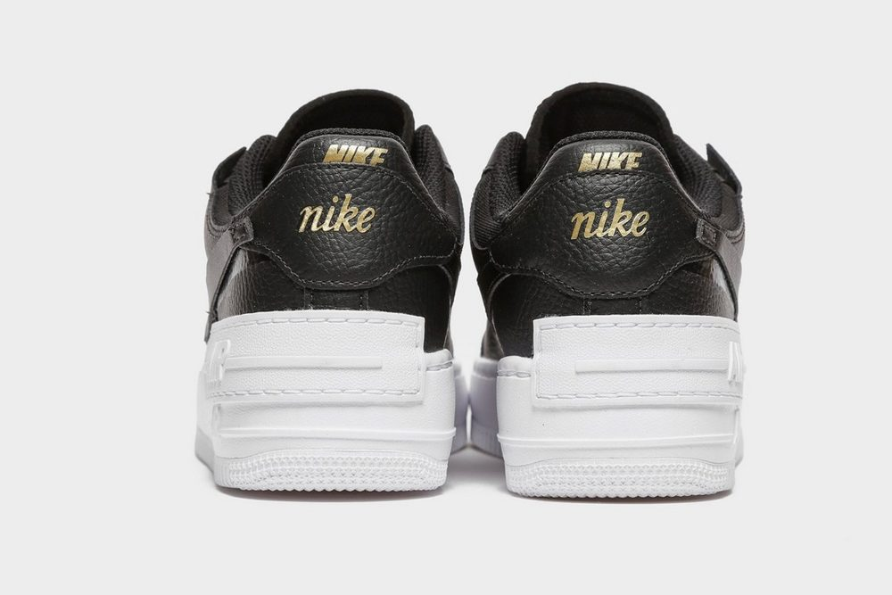Nike Air Force 1 Shadow Black Gold