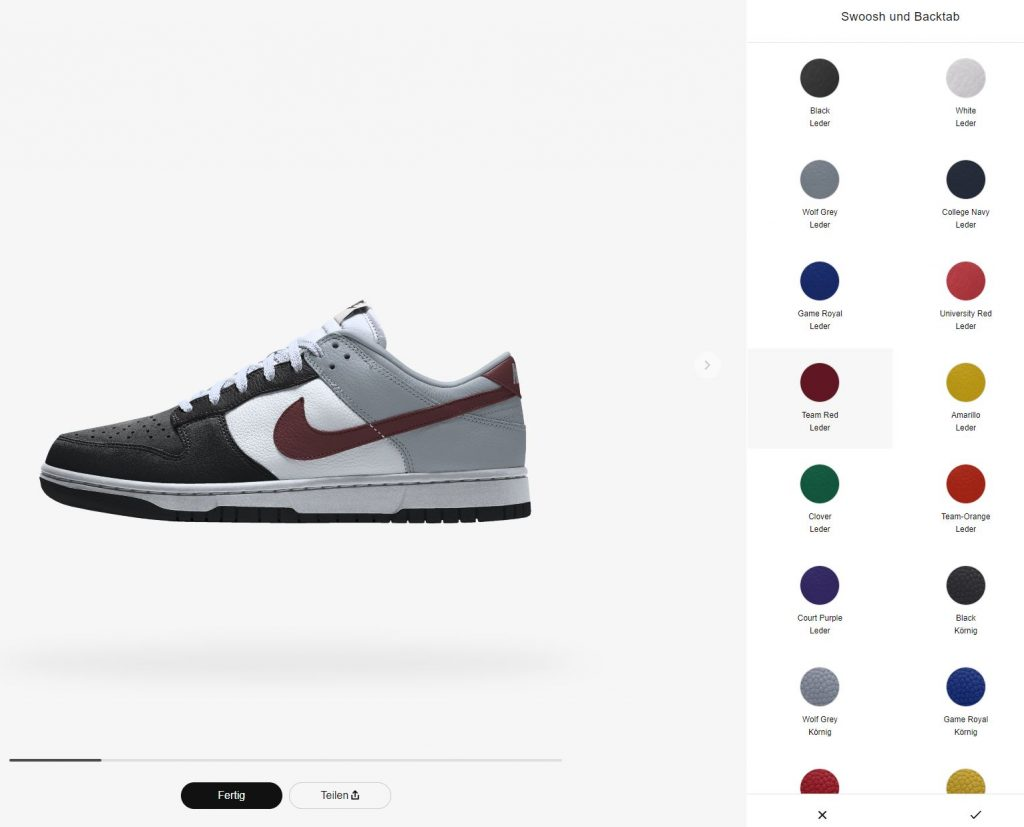 Nike Dunk Low 365 By You AH7980-920