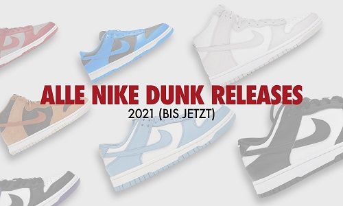 Dunk Releases 2021
