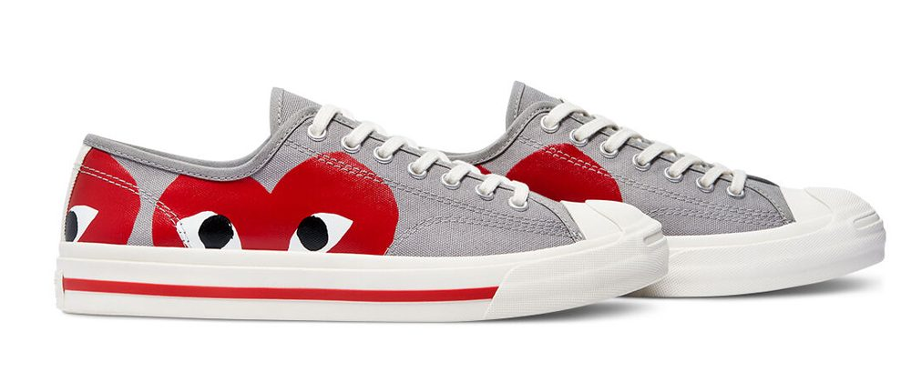 comme-des-garcons-play-x-converse-jack-purcell-Low-top-171260C
