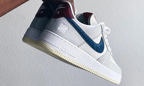Undefeated x Nike Air Force 1 Dunk vs AF-1