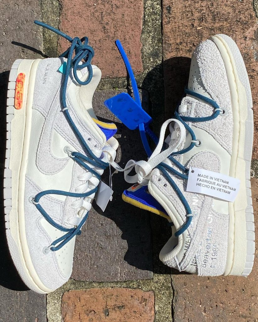 """Off-White x Nike Dunk Low The 50 """"16 of 50"""""""